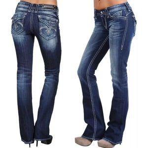 Rock Revival Sasha Medium Wash Bootcut Jeans